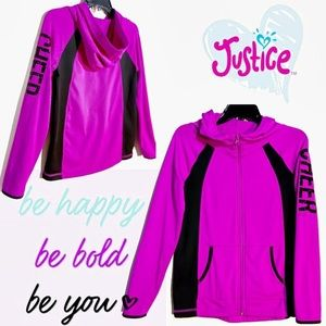 Justice Size 16/18 Active Justice Cheer Hooded